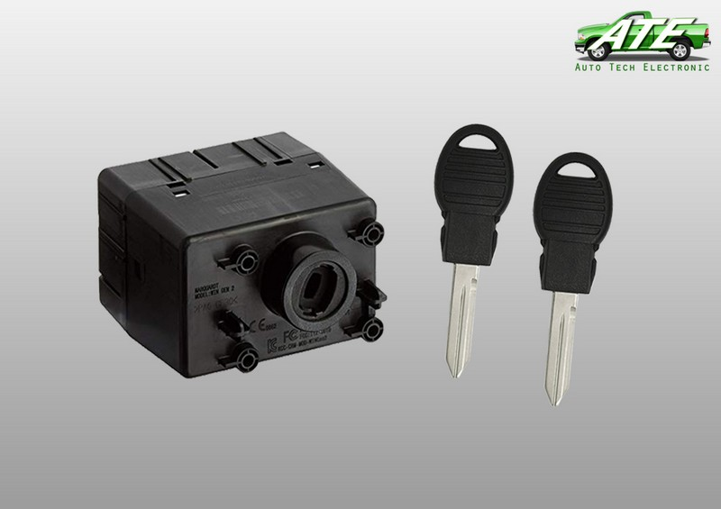 Dodge Wireless Ignition Node with two Pod Keys (WIN4)